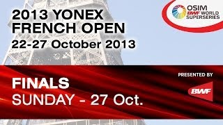 Final - WD - Bao YX. / Tang JH. vs Tian Q. / Zhao YL. - 2013 Yonex French Badminton Open