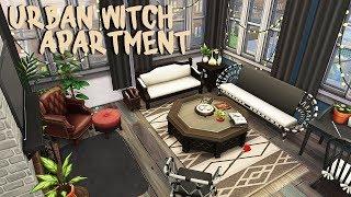URBAIN SORCIÈRE APPARTEMENT ✨ | Les Sims 4 | un Appartement en Rénovation Vitesse de Construire