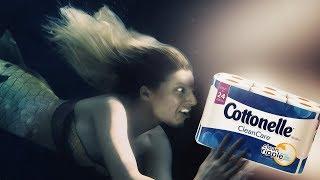 Die schlechtesten Werbungen aller Zeiten - Cottonelle Geheidert