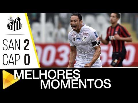 Santos 2 x 0 Atlético-PR | MELHORES MOMENTOS | Brasileirão (01/10/16)