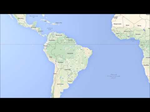 Где находится Бразилия? — страна на карте мира