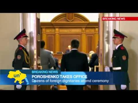 President Poroshenko Takes Over: Ambitious new Ukrainian president vows to return Crimea