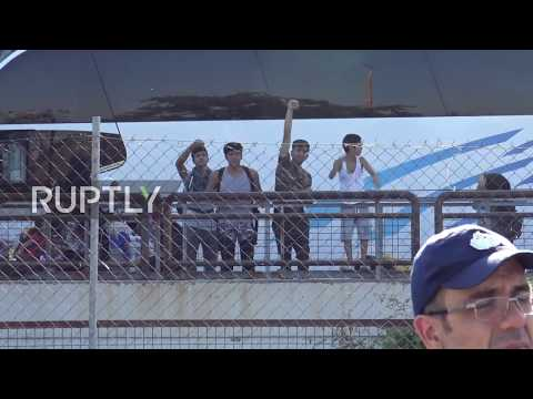 Greece: Hundreds relocated from Elliniko refugee camp near Athens