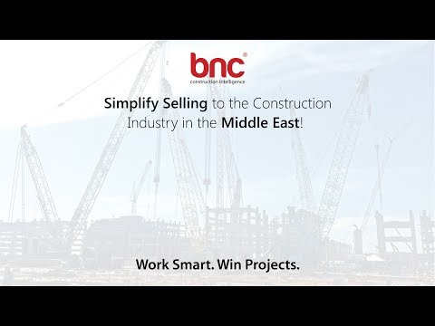 Simplify Selling to the Construction Industry in the Middle East!