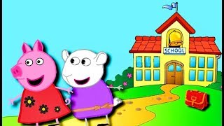 Мультики Свинка  Петта прогуляла школу  Мультфильмы для детей на русском