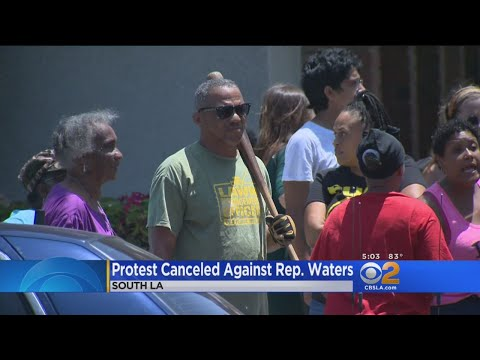 'Oath Keepers' Group Backs Out Of Protest At Maxine Waters' Office
