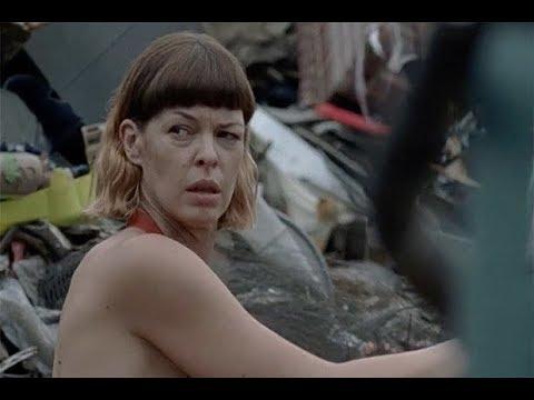 The Walking Dead star breaks silence on shock nude scenes - YouTube