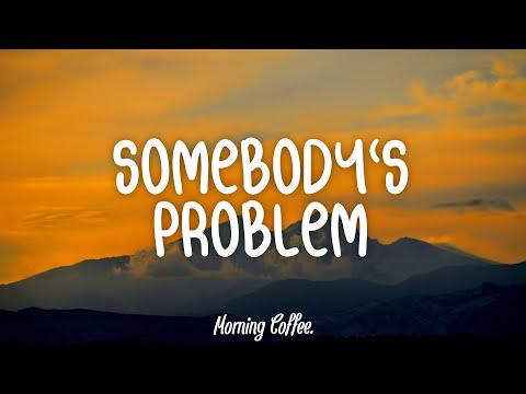 Morgan Wallen - Somebody's Problem (Lyrics/Lyric Video)