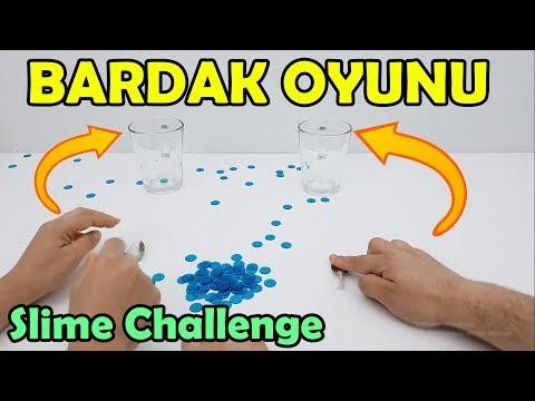 Bardak Oyunu ile Kahkaha ve Eğlence Dolu Slime Challenge