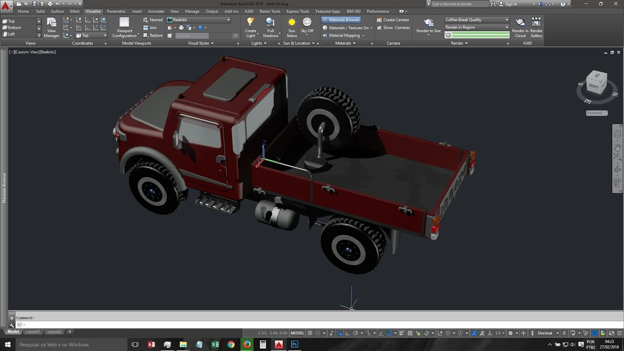 Full AutoCAD 2019 screenshot