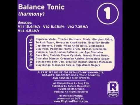 Greg Ellis  Balance Harmony; RhythmTonics  V1:2