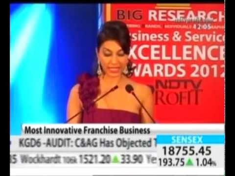 Most Innovative Franchise Business Award For Big V Telecom Featured On NDTV Profit