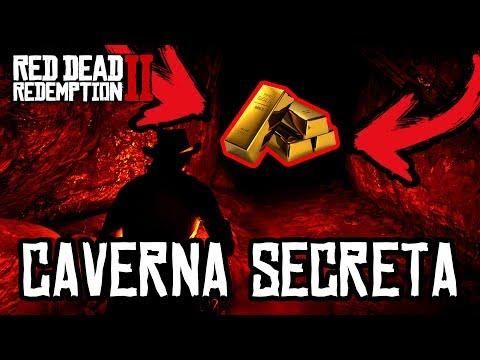 RED DEAD REDEMPTION 2 - A CAVERNA SECRETA Escondida e o TESOURO Enterrado