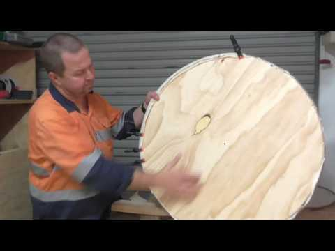 DIY Shield Do it Yourself Round Viking Saxon Medieval Mediev