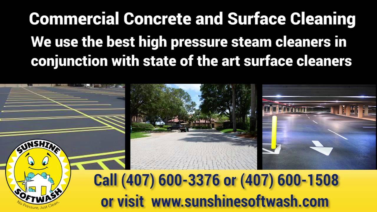 Sunshine Softwash Orlando FL Roof Cleaning   Quality Cleaning, Power  Washing Company Central FL