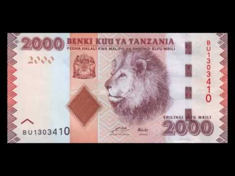 All Tanzanian Shilling Banknotes - 2010 to 2015 in HD
