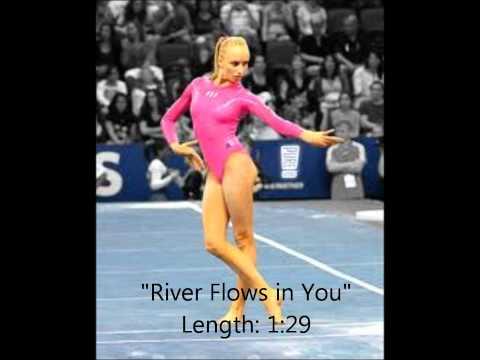 "Gymnastics Floor Music ""River Flows in You"""