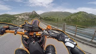SEMINARE IL PANICO | Lago del Turano 12° MOTOVLOG