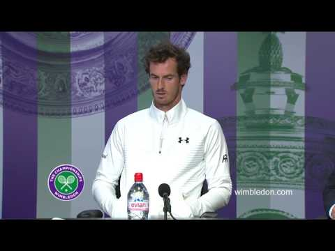 Andy Murray final press conference