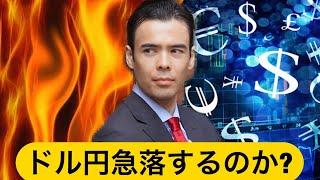 FXドル円は急落する?ユーロ、途上国、ビットコイン買う?