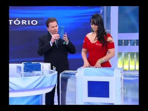 Programa Silvio Santos - Jogo das 3 Pistas: Andressa Urach X Andressa Soares