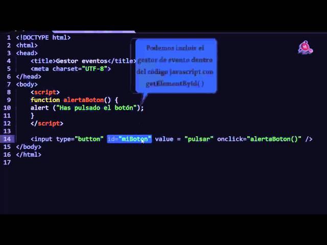 32.- Curso de JavaScript para principiantes. Entender los gestores de eventos.