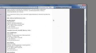 Office 365 - sähköpostin allekirjoitus