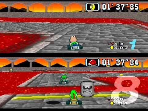 Super Mario Kart (Random) Snes Ktroopas (Tomate & Pope)
