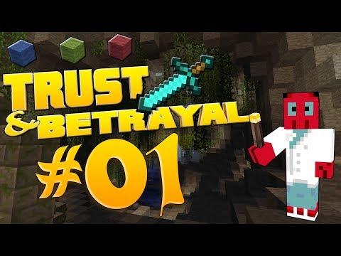 TRUST & BETRAYAL # 01 - Der Beginn von etwas Großem - Let's Play Attack of the B-Team (Minecraft)