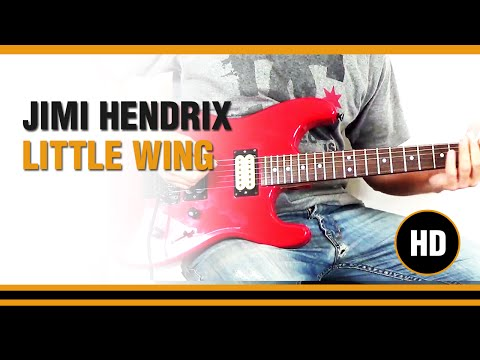 How to play Little Wing from JIMI HENDRIX - Electric Guitar GUITAR LESSON