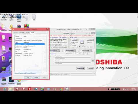 batch tutorial #6 how to turn a batch file into an application (.exe)