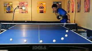 Decoding Jun Mizutani's serve --- TOMORROW TABLE TENNIS