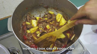 Jamaican Beef & Potato Stew Recipe