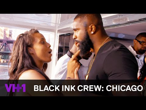 Black Ink Crew: Chicago  Don Explodes On Charmaine  VH1