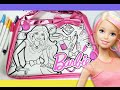 Barbie Fashion purse color n' style / coloring activity for kids