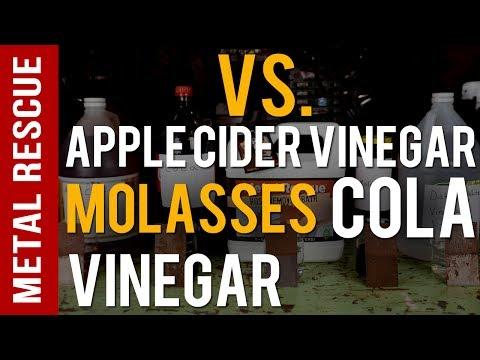 How To Remove Rust: Comparing Vinegar, Molasses, Coke and Metal Rescue
