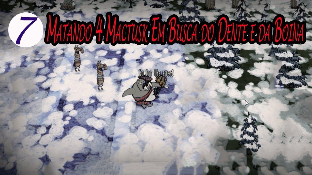 materiales de alta calidad venta de bajo precio lindo baratas Matando 4 Mactusk Em Busca do Dente e da Boina / Don't Starve: Together /  21-23 (#07)