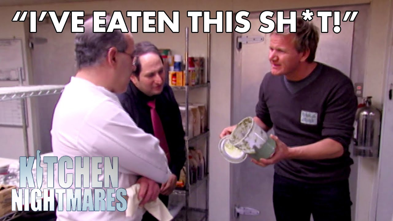 Gordon Calls Out Chef Who 'Didn't See' The Mould | Kitchen Nightmares