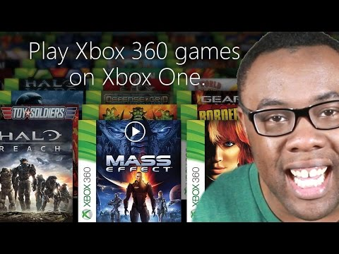 XBOX ONE PLAYS XBOX 360 GAMES? How It Works : Black Nerd E3