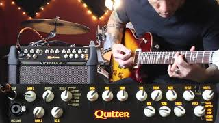 Quilter Mach 2 8 inch - Jazz riffing on a Paul Reed Smith.