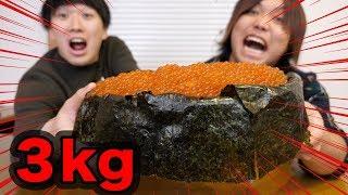 【大食い】イクラ3kg食ったらマジで致死量らしい