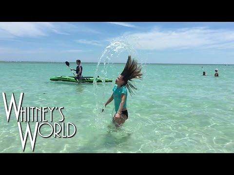 Beach Gymnastics | Whitney and Blakely