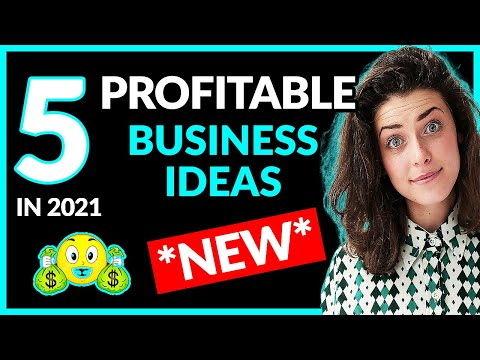 *NEW* 5 PROFITABLE Business Ideas To Start in 2021 *Unsaturated* | Side Hustles 2021