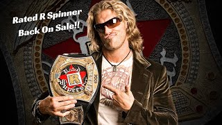 Edge Rated-R Spinner WWE Championship Replica Title Belt Back On WWE Shop!!!