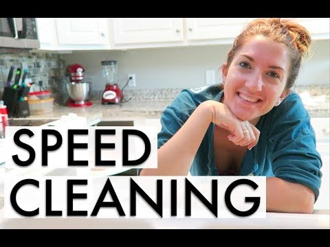 Speed Cleaning my Dirty Kitchen!