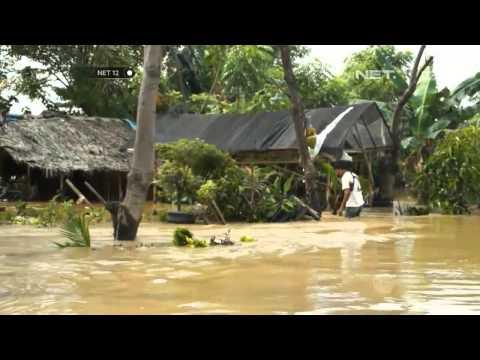NET12 Sungai Cisadane Meluap Akibatkan Banjir di Karawaci Mp3