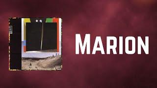 Bon Iver - Marion (Lyrics)