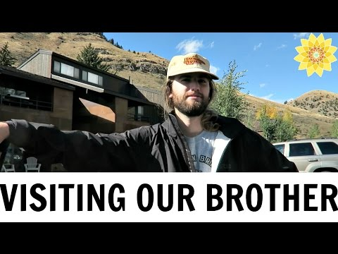 VISITING OUR BROTHER IN WYOMING | ROAD TRIP VLOG #5