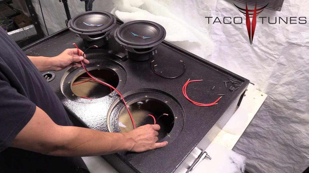Ohm Subwoofer Wiring Additionally How To Wire 2 4 Ohm Subwoofers