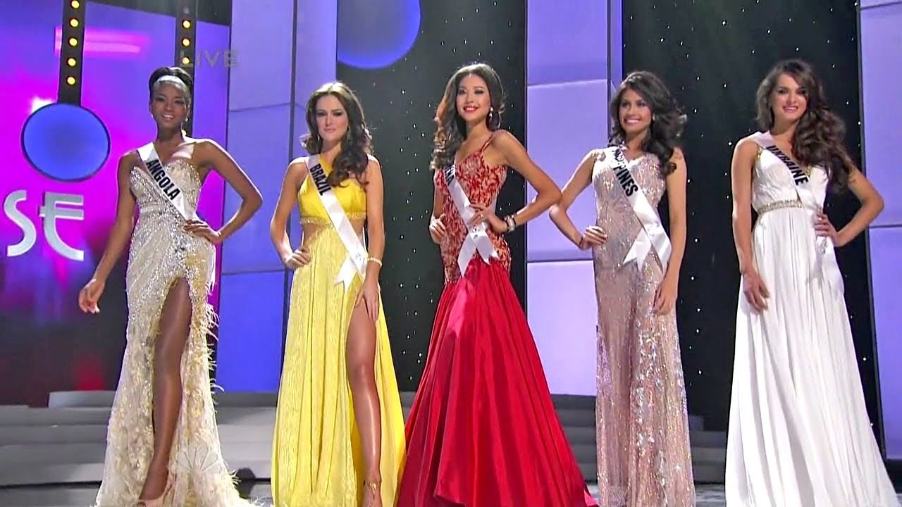 miss universe 2011 top5 youtube